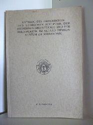 Ponger, Christiaan Sieuwert  Katalog der Griechischen und Römischen Sculptur, der steinernen Gegenstände und der Stuckplastik im Allard Pierson Museum zu Amsterdam