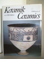 Adalbert Klein. Aufnahmen von Carlfred Halbach  Keramik aus 5000 Jahren. Ceramics 5000 years of
