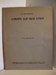 Balogh, Jolan  Europa auf dem Stier. Sonderdruck aus dem Wiener Jahrbuch für Kunstgeschichte