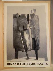 Ausstellungskatalog  Junge Italienische Plastik. 11. Januar - 16. Februar 1958