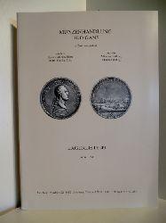 Auktionskatalog:  Münzenhandlung Udo Gans. Lagerliste 49. 1998