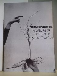 Standpunkte von Werner Hofmann  Standpunkte. Lili Fischer. Die Pflanzenkonferenzen mit Wahl des Friedenskrauts. Ausstellung vom 3.6. bis 3.7.1983