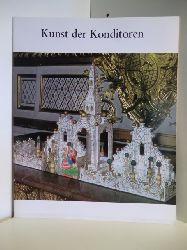 Vorwort von Lise Lotte Möller:  Kunst der Konditoren. Publikation zur Ausstellung in Hamburg, München, Hannover, Frankfurt am Main und Ulm
