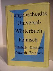 Keine Autorenangaben:  Langenscheidts Universal-Wörterbuch Polnisch. Polnisch - Deutsch / Deutsch - Polnisch
