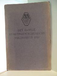 Emil Hannover  Det Danske Kunstindustrimuseums Virksomhed 1914