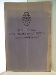 Emil Hannover  Det Danske Kunstindustrimuseums Virksomhed 1913