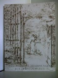 Vorwort von Frits Lugt  Holländische Zeichnungen der Rembrandt-Zeit. Ausstellung vom 8. September bis 15. Oktober 1961