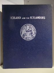 Helgi P. Briem. Color Photography by Vigfus Sigurgeisson  Iceland and the Icelanders
