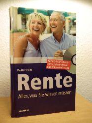 Pohl, Detlef  Rente. Alles, was Sie wissen müssen (mit CD-Rom)
