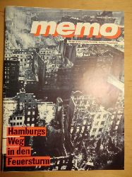 Bracker, Prof. Dr. Jörgen (Hrsg.):  memo. Museum für Hamburgische Geschichte - Illustrierte Zeitgeschichte. Heft Nr. 1, Oktober 1993: Hamburgs Weg in den Feuersturm