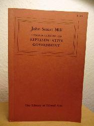 Mill, John Stuart  Considerations on representative Government (English Edition)