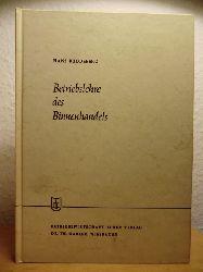Buddeberg, Dr. Hans  Betriebslehre des Binnenhandels