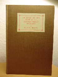 Belloc, Hilaire  An Essay on the Nature of Contemporary England (English Edition)