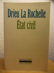 Pierre Drieu la Rochelle  Etat civil (französischsprachig)