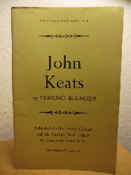 Blunden, Edmund  John Keats - Writers and their Work No. 6 (English Edition)