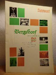 Lichtwark-Ausschuss Bergedorf:  Lichtwark Sonderheft Nr. 28, Dezember 1965: Bergedorf, Neu-Lohbrügge. Einst - jetzt
