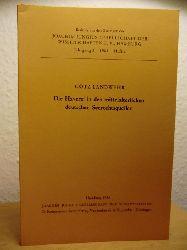 Landwehr, Götz  Die Haverei in den mittelalterlichen deutschen Seerechtsquellen