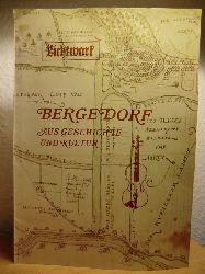 Lichtwark-Ausschuß Bergedorf (Hrsg.)  Lichtwark Ausgabe Nr. 40 Dezember 1977: Bergedorf aus Geschichte und Kultur