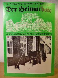 Cords, Herbert / Mund, Harald / Philipps, Hanspeter (Redaktion):  Der Heimatbote. Zeitung für den Bürger- und Heimatverein Nienstedten e.V. - 28. Jahrgang, 12, Dezember 1979