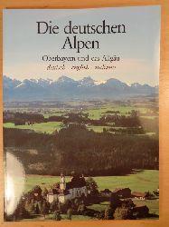 Plank, Bert  Die deutschen Alpen. Oberbayern und das Allgäu (deutsch - english - italiano)
