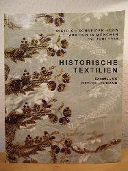 Auktionshaus Dietrich Schneider-Henn  Historische Textilien aus Sammlung Detlef Lehmann sowie fachbezogene Dokumentation und Literatur. Auktion am 19. Juni 1998