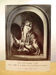 Gemäldegalerie der Akademie der Bildenden Künste in Wien  Lichteffekte in der Malerei des XVII. und XVIII. Jahrhunderts - Katalog der XIX. Sonderausstellung