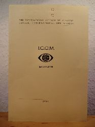 The International Council of Museums (ICOM) / Conseil International des Musees  I.C.O.M. Statuts (edition francaise)