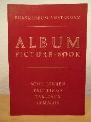 Rijksmuseum Amsterdam  Album / Picture-Book. Schilderijen - Paintings - Tableaux - Gemälde