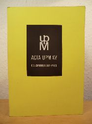 Acta UPM XV C. Comentationes 2  Sbornik Stati Na Pocest 60. Vyroci Narozeni Ph. Dr. Dagmar Hejdove, CSs.