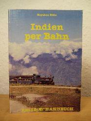 Ellis, Royston  Indien per Bahn. Reise-Handbuch