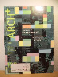 Redakteure: Nikolaus Kuhnert, Sabine Kraft, Angelika Schnell  ARCH+ - Zeitschrift für Architektur und Städtebau. Ausgabe 133, September 1996. Titel: Europan 4