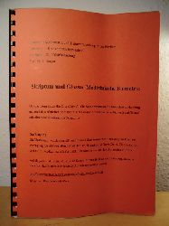 Berger, Prof. Dr. J.  Skriptum und Glossar. Medizinische Biometrie - Script zum Biomathematik-Kurs