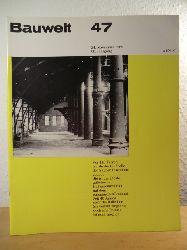 Conrads, Ulrich (Chefredakteur)  Bauwelt 47, 24. November 1969, 60. Jahrgang. Schwerpunkt: Stahlbaukonstruktionen