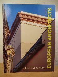 Amsoneit, Wolfgang  Contemporary European Architects (Text in deutscher, englischer und französischer Sprache)