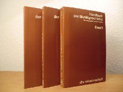 Adler, Guido (Hrsg.)  Handbuch der Musikgeschichte Band 1 bis Band 3 (vollständig)