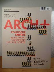 Kraft, Sabine / Kuhnert, Nikolaus / Uhlig, Günther (Hrsg.)  Arch+ 206 / 207, Ausgabe Juli 2012. Titel: Politische Empirie. Globalisierung, Verstädterung, Wohnverhältnisse