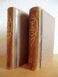 Keller, Gottfried - herausgegeben von Prof. Dr. Philipp Witkop  Der grüne Heinrich Band Band 1 bis Band 4 in zwei Büchern (so vollständig)