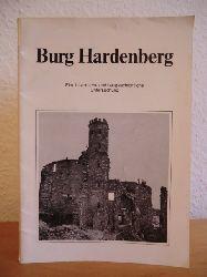 Pröpper, Rolf:  Burg Hardenberg. Eine historische und baugeschichtliche Untersuchung