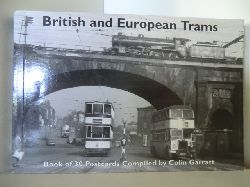 Colin, Garratt:  British and European Trams. Book of 30 Postcards