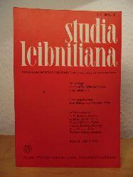 Müller, Kurt und Wilhelm Totok (Hrsg.) - im Auftrage der Gottfried-Wilhelm-Leibniz-Gesellschaft e.V.:  Studia Leibnitiana. Vierteljahrschrift für Philosophie und Geschichte der Wissenschaften. Band III, Heft 2, 1971