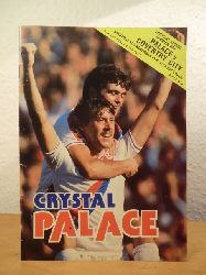 Shaw, Tony (Crystal Palace Football Programme Editor):  Football League Division one. Crystal Palace v Coventry City, Saturday 24th November 1979. The official Programme