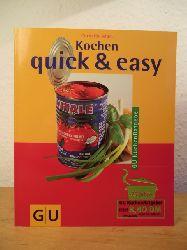 Adam, Cornelia:  Kochen quick & easy