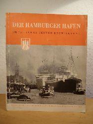 Böer, Friedrich (Zusammenstellung und Gestaltung):  Der Hamburger Hafen im 750. Jahre seiner Entwicklung. Herausgegeben von der Hamburger Freihafen-Lagerhaus-Gesellschaft