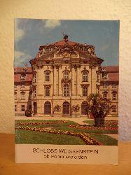 Teufel, Richard - bearbeitet von Tilmann Breuer:  Schloss Weissenstein ob Pommersfelden (Bayern / Landkreis Bamberg)