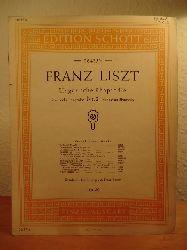 Liszt, Franz - erleichterte Bearbeitung von Franz Bendel:  Ungarische Rhapsodie - Rhapsodie hongroise - Hungarian Rhapsody. Piano. Einzel-Ausgabe. Edition Schott 06435 1/2