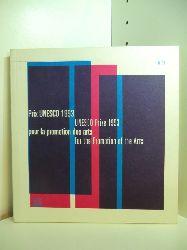 Mayor, Frederico:  Prix UNESCO 1993 pour la promotion des arts - UNESCO Prize 1993 for the Promotion of the Arts