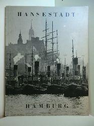 Schulze, Adolf:  Hansestadt Hamburg (deutsch, englisch, französisch)