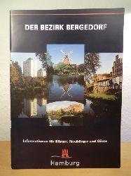 Bezirksamt Hamburg-Bergedorf (Hrsg.), verantw. Red. Otto Steigleder:  Der Bezirk Bergedorf. Informationen für Bürger, Neubürger und Gäste