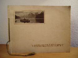 Vierwaldstättersee - Lac des Quatre Cantons - Lucerne and the Lake. Edition Illustrato