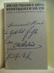 Abegg, Johann Friedrich:  Reisetagebuch von 1798